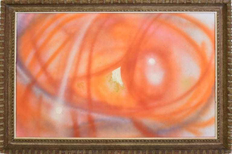 Unknown Abstract Painting - Mid Century Modern Abstract Expressionist New York School Oil Painting