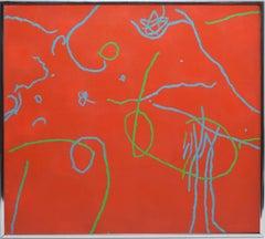 Mid Century Pop Art Abstract Composition