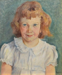 Mid-Century Portrait of a Young Girl