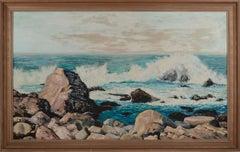 Mid Century San Francisco Bay Seascape