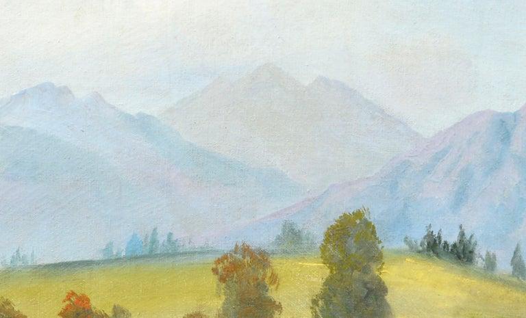 Midcentury Eastern Sierra Mountains Landscape For Sale 1
