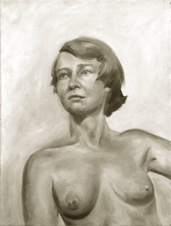 Modernist Portrait of an Artist (Joan Brown)