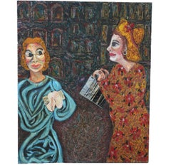 MoMA Girls Textured Figurative Abstract