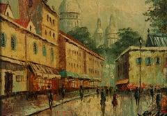Montmartre Paris Impressionist Landscape