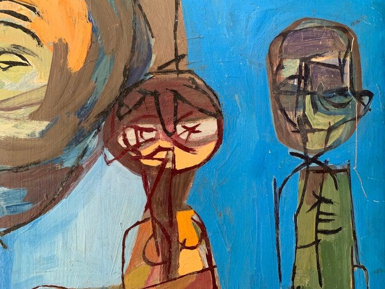 Michael William Eggleston - Modernist Abstract Musicians