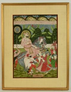 Mughal Interior Scene
