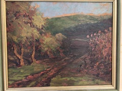 Mystery Signed Impressionistic Landscape