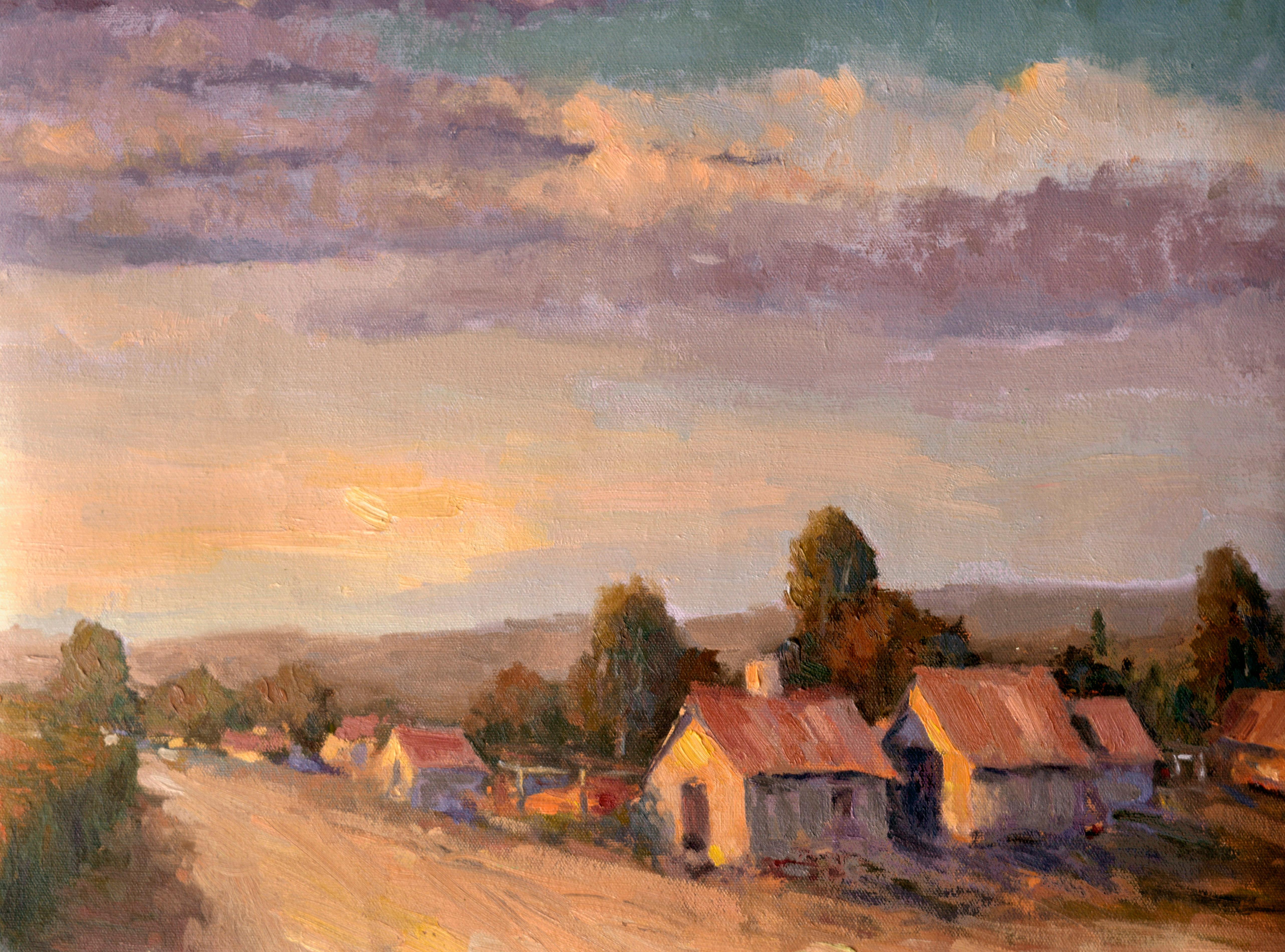 Napa County Sunset Landscape