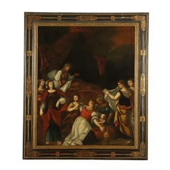Nativity of Mary Oil Painting 17th Century