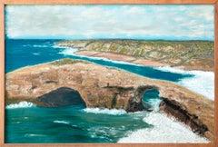 Natural Bridges, Santa Cruz - Coastal Seascape