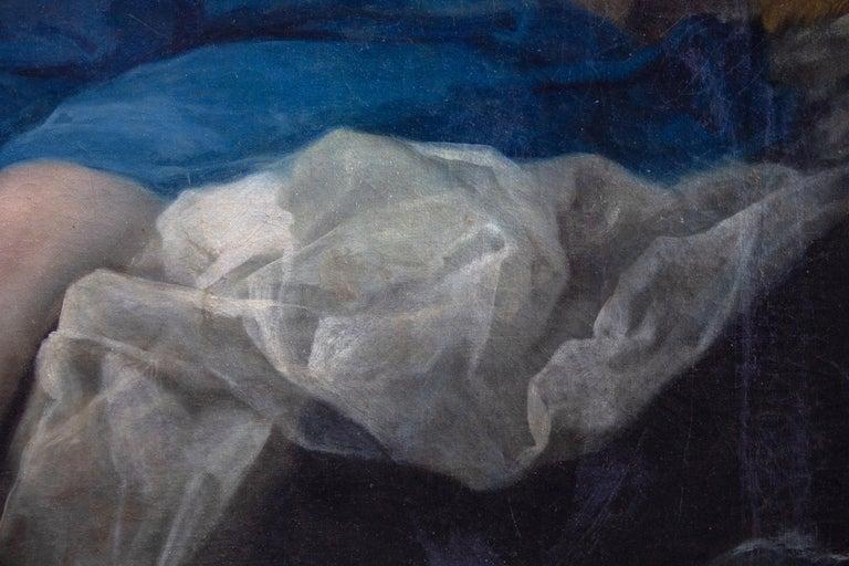 Neoclassic Mythological Painting Jupiter Seduce Callisto  For Sale 4