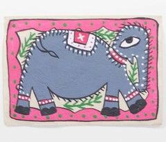 Nepalese Folk Art Elephant