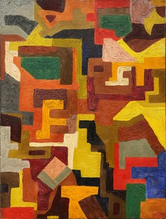 New York School Geometric Abstract