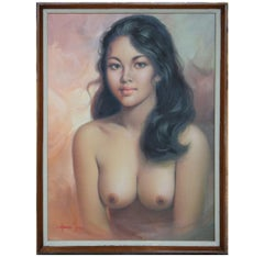Nude Portrait of a Young Girl
