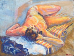 Nude Reclining Woman Figurative