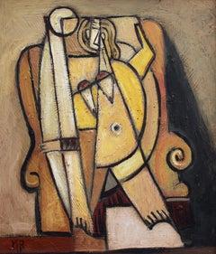 'Nude Seated on Armchair', Berlin School