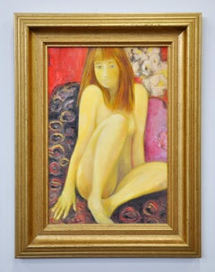 Nue Sauvage, Nude Girl, Oil Painting on Canvas