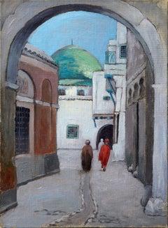 Old Morocco Street Scene