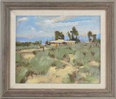 Old Pueblo Home Southwest Landscape