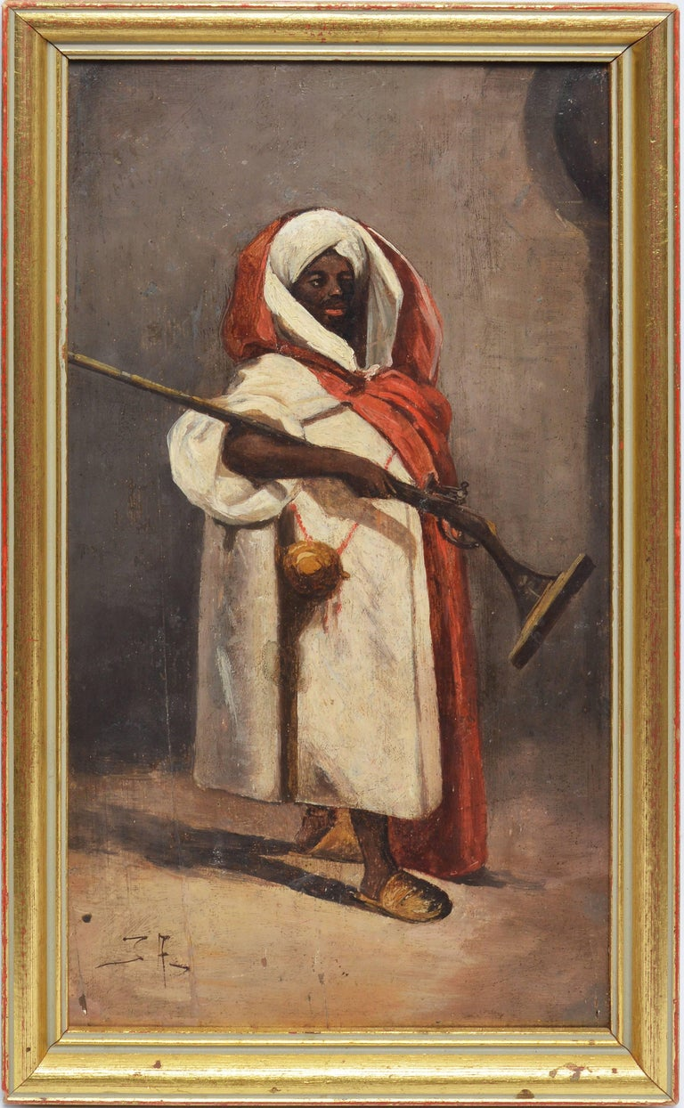 Orientalist Portrait of a Man