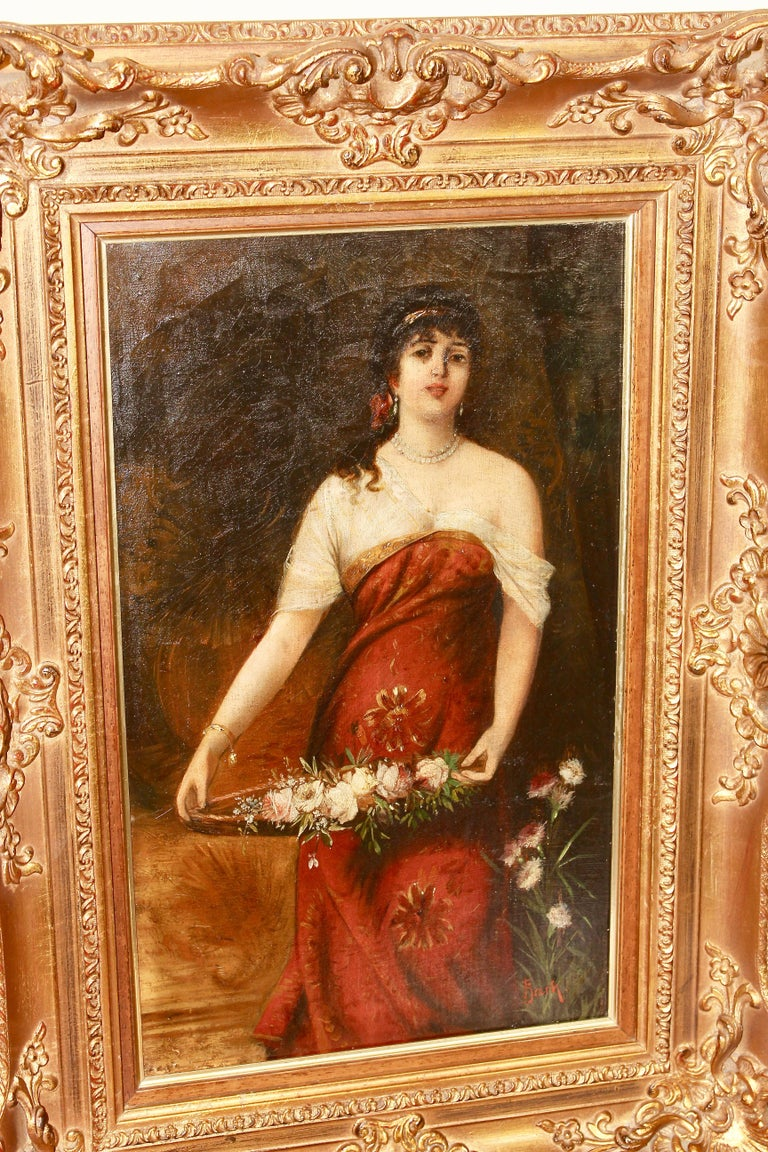 Painting, 19th century, oil on canvas,