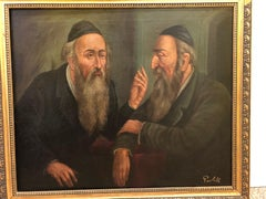 Czech Painting of Rabbis