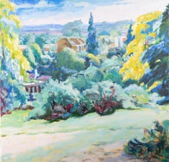 Pamela Chard (1926-2003) - 1993 Oil, Summer View