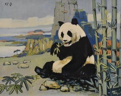 Panda - Animal Painting, figurative
