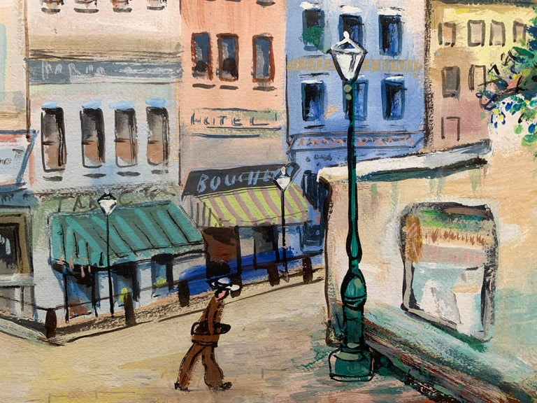 Paris (Montmartre Street Scene)  For Sale 3