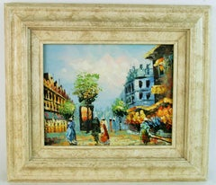 Impressionist Paris Promenade Landscape