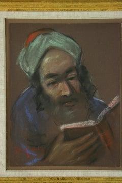 Pastel Portrait of A Biblical Scholar