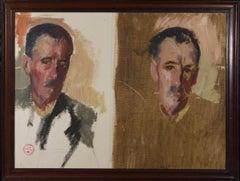 Patrick Lambert Larking ROI (1907-1981) - Oil, Portrait of a Gentleman
