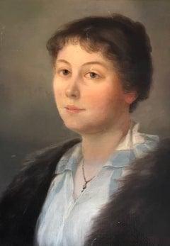 Portrait de jeune femme - Young woman portrait