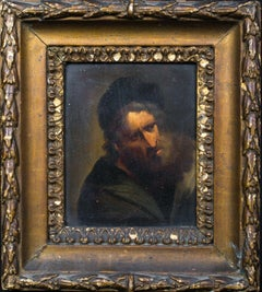 Portrait Of 4 Jewish Scholars/Scribes, 17th Century