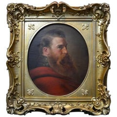 Portrait of a Bearded French Military Officer