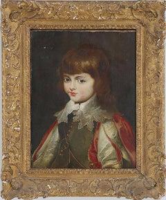 Portrait of a Boy Continental School, 18th Century