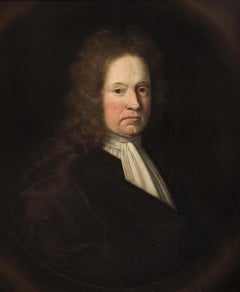 Portrait of a Gentleman, Continental School, Oil on Canvas