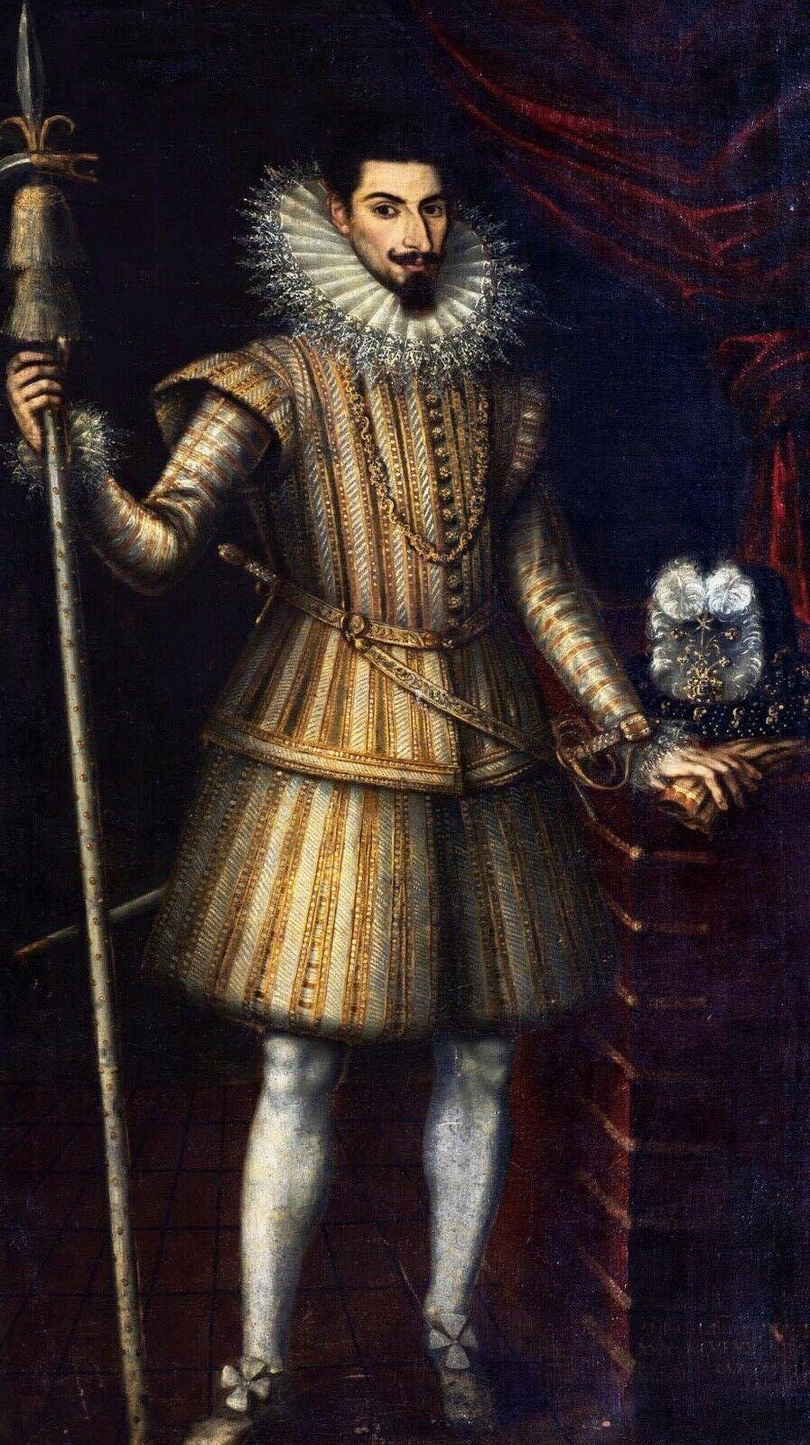 Portrait Of A Gentleman, Court Member of Phillip II Of Spain