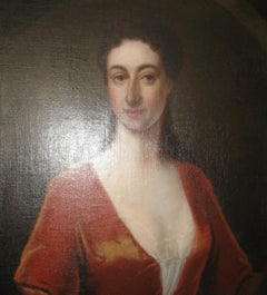 'Portrait of a Lady' 18th Century oil on canvas cicle of Godfrey Kneller c1700