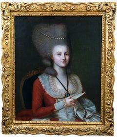 Portrait Of A Lady, Elizabeth Somerset, Duchess Of Beaufort (1713-1799)