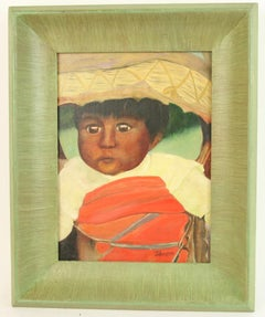 Portrait of a Native American  Indian Baby