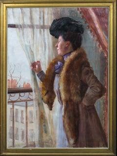 Portrait Of A Parisian Lady, 19th Century