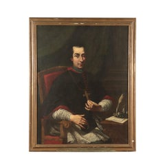 Portrait of a Prelate, Oil on Canvas, 18th Century