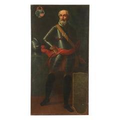 Portrait Of Bartolomeo De Olevano Oil On Canvas Second Half '500