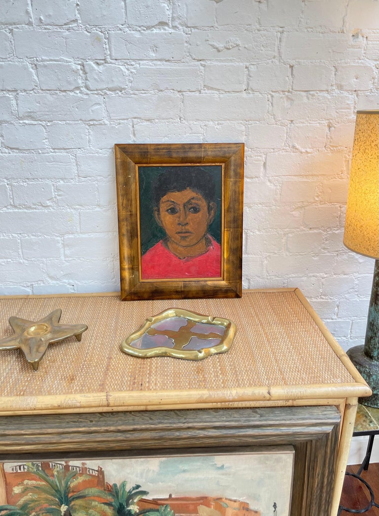 Portrait of Boy in Red For Sale 5