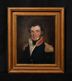 Portrait Of Captain James Wilson Henderson (1817 – 1880) 4th Governor of Texas