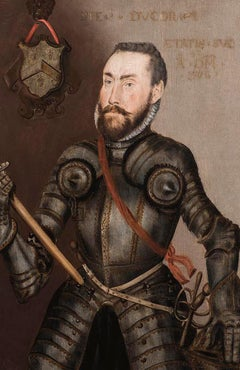 Portrait of Captain John Hyfield - 16th Century Oil