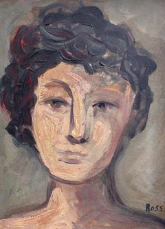 'Portrait of Cerebral Woman' by Ross