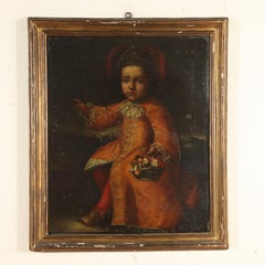 Portrait of Child Oil on Canvas Early 17th Century
