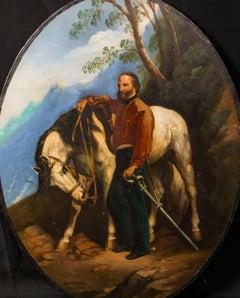 Portrait of Giuseppe Maria Garibaldi (1807-1882), 19th Century